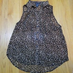 Wet seal button up shirt size large